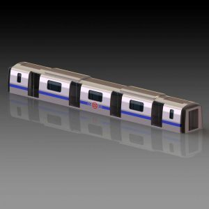 دانلود پروژه طراحی بدنه اتاق واگن مترو