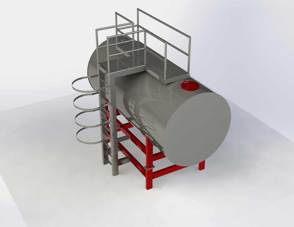 دانلود پروژه طراحی تانکر فلزی (2)
