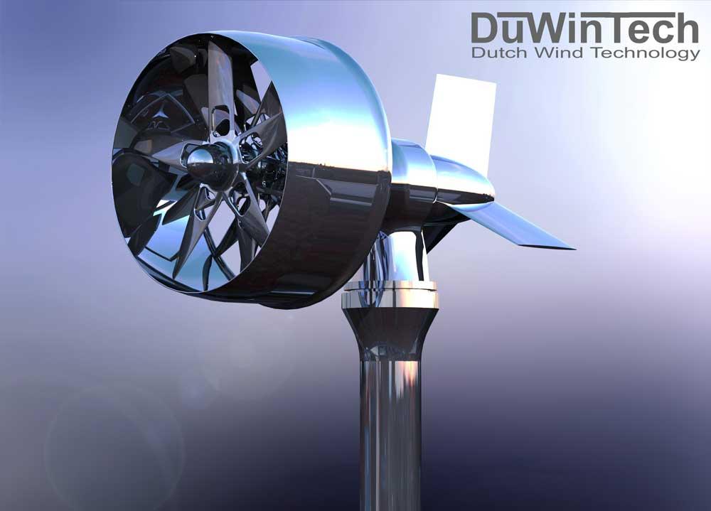 دانلود پروژه طراحی توربین بادی چند تیغه ای