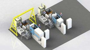 دانلود پروژه طراحی دستگاه و خط تولید دایکست ظروف روی