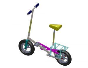 دانلود پروژه طراحی دوچرخه استپر (2)