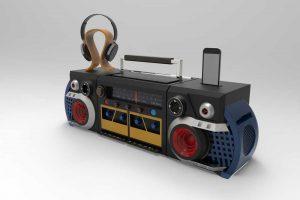 دانلود پروژه طراحی رادیو ضبط صوت آیپاد هدفون
