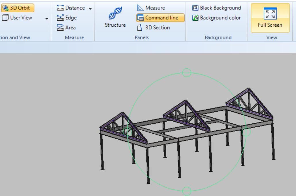 دانلود پروژه طراحی سازه سوله (2)