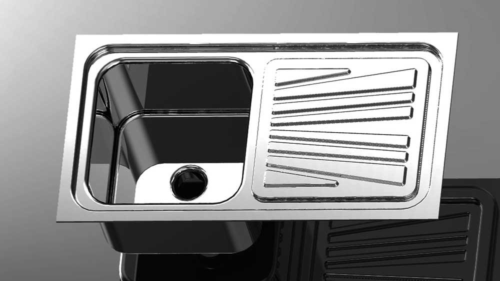 دانلود پروژه طراحی سینک ظرفشویی