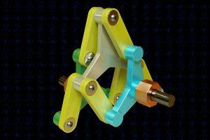 دانلود پروژه طراحی مکانیسم کوپلینگ Schmidt