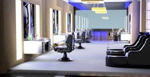 دانلود پروژه طراحی نقشه و پلان سالن آرایشگاه و پیرایشگاه مدرن (4)