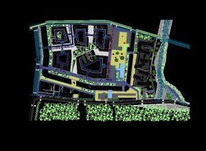 دانلود پروژه طراحی نقشه و پلان شهر مدرن 5