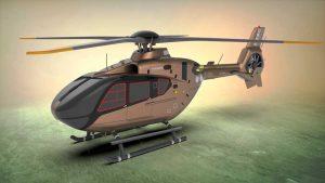 دانلود پروژه طراحی هلیکوپتر ایرباس (یوروکوپتر H135 )