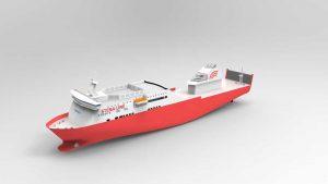 دانلود پروژه طراحی کشتی مدرن
