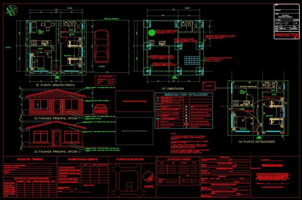 دانلود پروژه طراحی نقشه و پلان خانه ویلایی شیروانی (7) + نقشه برق کشی