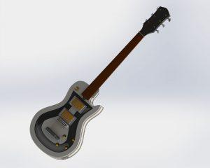 دانلود پروژه طراحی ساز گیتار الکتریک