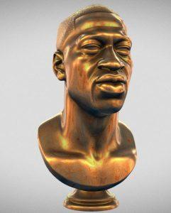 دانلود پروژه طراحی تندیس فلزی یادبود جورج فلوید
