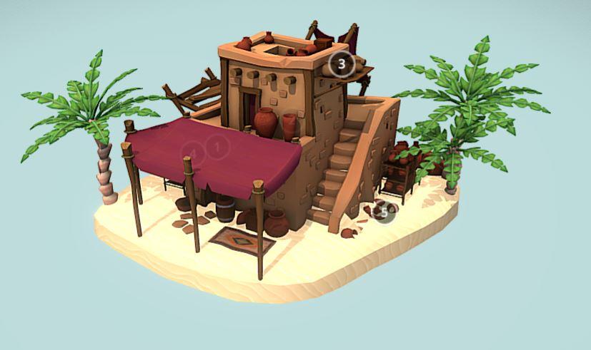 دانلود پروژه طراحی خانه قدیمی فانتزی