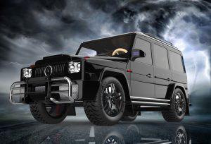 دانلود پروژه طراحی خودرو شاسی بلند مرسدس بنز 2021 G63 AMG 6x6