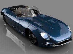 دانلود پروژه طراحی خودرو کلاسیک جگوار ای-تایپ اسپرت (2)