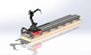 دانلود پروژه طراحی ربات جوشکاری