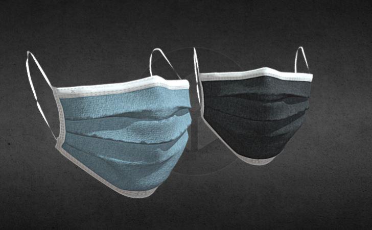 دانلود پروژه طراحی ماسک سه لایه پزشکی