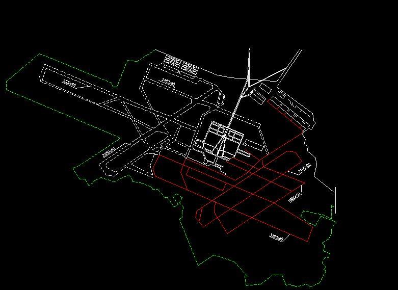 دانلود پروژه طراحی نقشه و پلان فرودگاه