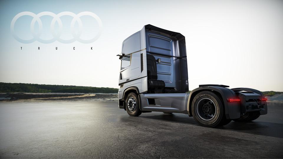دانلود پروژه طراحی کامیون آئودی مفهومی (2)