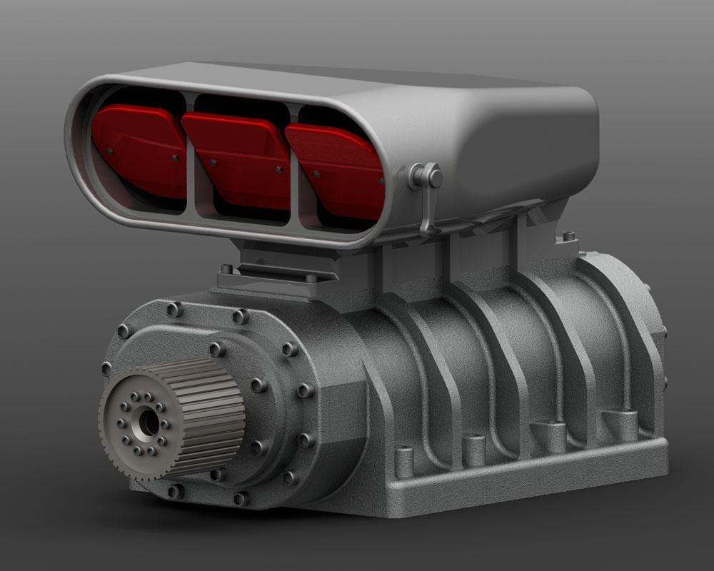 دانلود پروژه طراحی سوپر شارژر خودرو