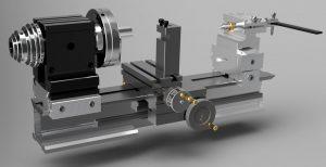 دانلود پروژه طراحی ماشین تراش کوچک (رومیزی , میکرو)
