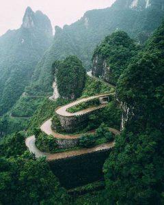 دانلود پروژه عکاسی طبیعت ژانگجیاجی چین