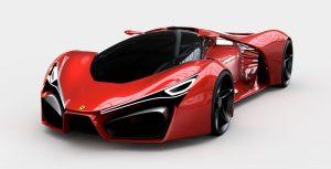 دانلود پروژه طراحی خودرو فراری Ferrari F80 (1)