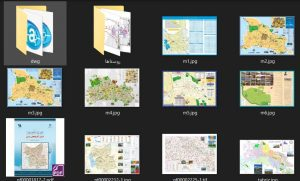 دانلود پروژه نقشه های شهرداری , گردشگری و اطلس آذربایجان شرقی (تبریز)