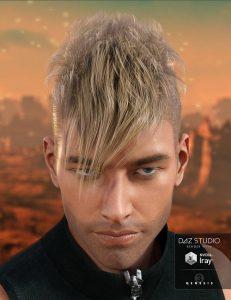 دانلود پروژه طراحی مدل موی سر انسان (مرد , پسر)