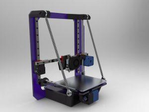 دانلود پروژه طراحی پرینتر سه بعدی تاشو (1)
