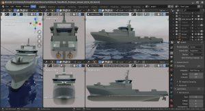 دانلود پروژه طراحی کشتی چند منظوره 6214 DS