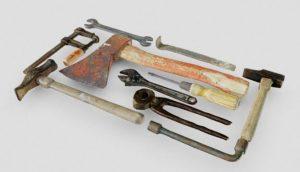 دانلود پروژه طراحی انواع ابزار سه بعدی