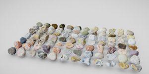 دانلود پروژه طراحی انواع سنگ سه بعدی