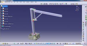دانلود پروژه طراحی جرثقیل بازویی (جیب کرین Jib Crane) (2)