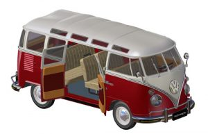 دانلود پروژه طراحی خودرو کلاسیک ون فولکس واگن سمبا باس (1)