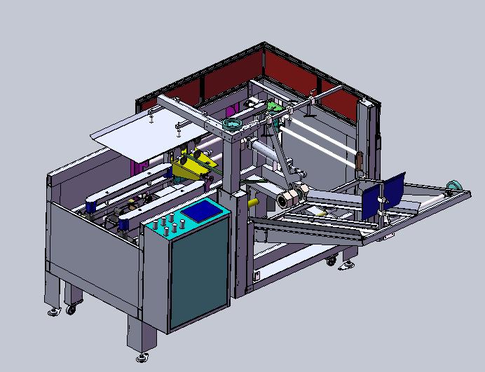 دانلود پروژه طراحی دستگاه اتوماتیک کارتن باز کن و چسب زن (2)