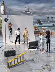 دانلود پروژه طراحی صحنه عکاسی در محیط بیرون (4)