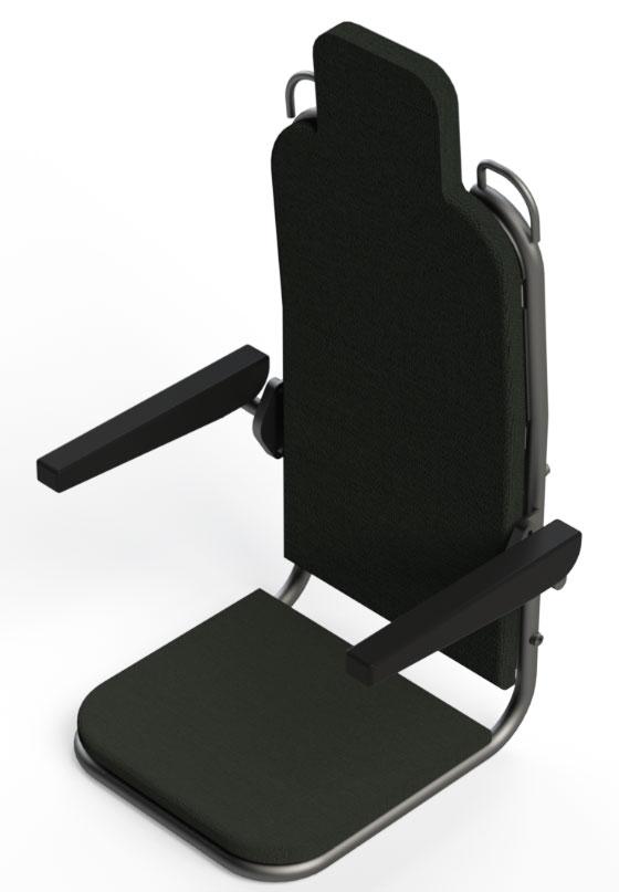 دانلود پروژه طراحی صندلی نظامی ضد انفجار (2)