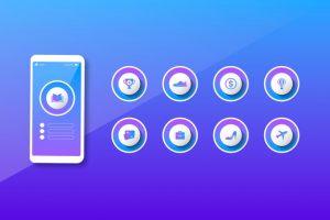 دانلود پروژه طراحی قالب لایه باز هایلایت اینستاگرام (16)