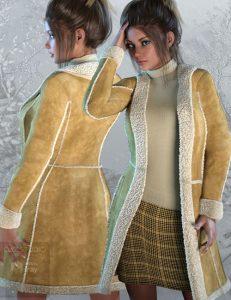 دانلود پروژه طراحی مدل انواع لباس زنانه خزدار (1)