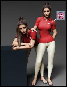 دانلود پروژه طراحی مدل لباس فروشنده زنانه (1)