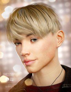 دانلود پروژه طراحی مدل موی سر انسان (مرد , پسر) (3)