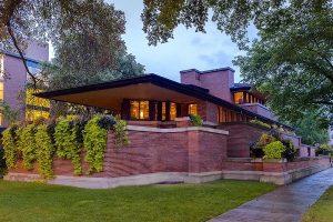 دانلود پروژه طراحی نقشه و پلان خانه فردریک روبی (2)