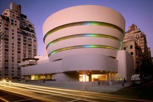 دانلود پروژه طراحی نقشه و پلان موزه سلیمان رابرت گوگنهایم