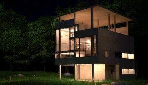 دانلود پروژه طراحی نقشه و پلان ویلای مدرن (21)