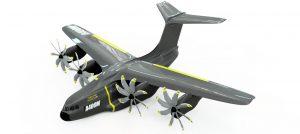 دانلود پروژه طراحی هواپیمای نظامی ایرباس اطلس A400M