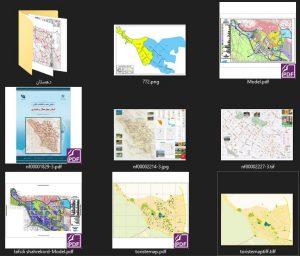 دانلود پروژه نقشه های شهرداری , گردشگری و اطلس چهارمحال و بختیاری