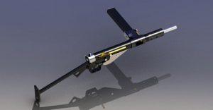 دانلود پروژه طراحی اسلحه مسلسل دستی استن Mk2 (2)