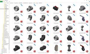 دانلود پروژه طراحی انواع اتصالات لوله پی وی سی (3)