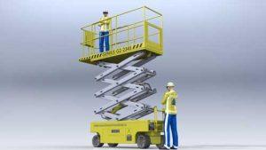 دانلود پروژه طراحی بالابر قیچی آسانسور